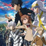 Anime A Certain Magical Index III Key Visual