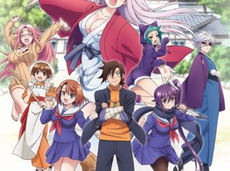 Yuuna and the Haunted Hot Springs Lets All Characters Greet You in New Key Visual
