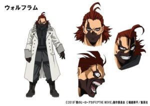Wolfram VA:Rikiya Koyama from anime My Hero Academia: Futari no Hero (The Two Heroes)