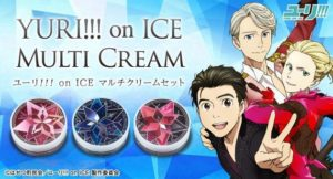 Multi Cream Set | Anime Yuri!!! on ICE | Anime Merchandise Monday (11-17 June) | MANGA.TOKYO (C)はせつ町民会/ユーリ!!! on ICE 製作委員会