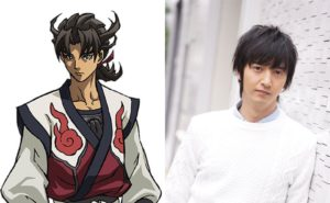 Masei Nakayama as Raiko from anime Usuzumizakura -Garo-