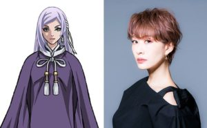 Romi Park as Seimei from anime Usuzumizakura -Garo-