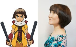 Akiko Yajima as Kintoki from anime Usuzumizakura -Garo-