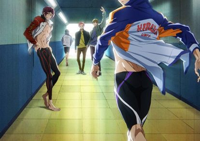 Free! Dive to the Future Anime Key Visual