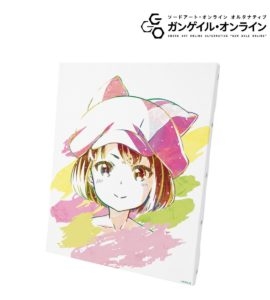 Canvas | Anime Gun Gale Online | Anime Merchandise Monday (11-17 June) | MANGA.TOKYO ©2017 時雨沢恵一/KADOKAWA アスキー・メディアワークス/GGO Project
