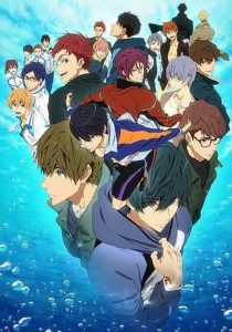 Free! -Dive to the Future- Anime Visual