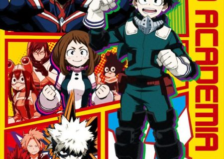 Visual from My Hero Academia x TOWER RECORDS CAFE Anime Collaboration Cafe