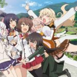 Katana Maidens: Toji No Miko Anime Visual