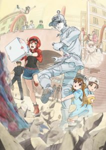 Cells at Work! Anime Visual ⓒ清水茜/講談社・アニプレックス・davidproduction