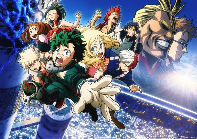 My Hero Academia The Movie Futari no Hero Main Anime Visual