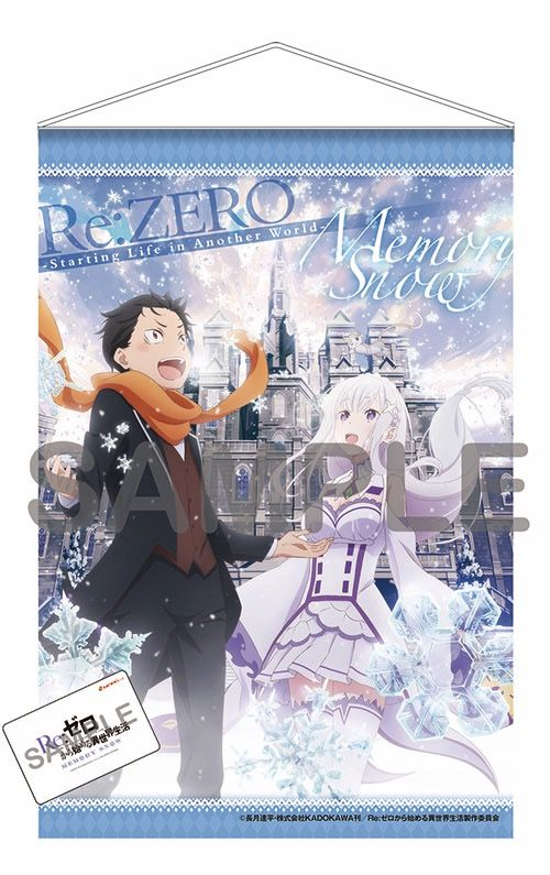 Re:Zero - Starting Life in Another World Memory Snow Tapestry