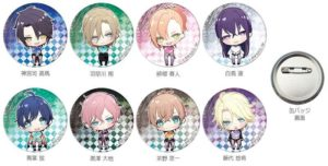 Chibi Buttons | Anime Butlers: A Millennium Century Story | Anime Merchandise Monday (18-24 June 2018) MANGA.TOKYO (C) 2018 SummerACG/「Butlers~千年百年物語~」プロジェクト