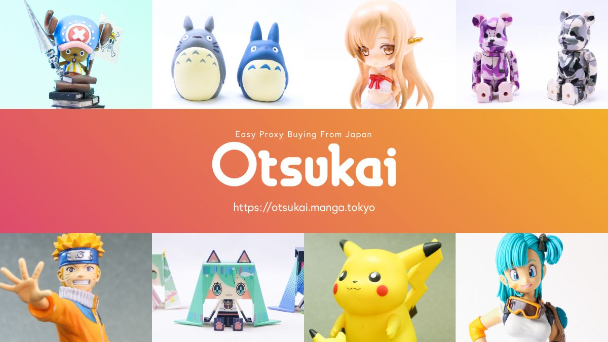 OTSUKAI | Get anime items from Japan | Powered by MANGA.TOKYO