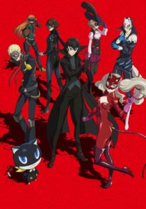 Persona 5 the Animation Summer 2018 Cour Anime Visual
