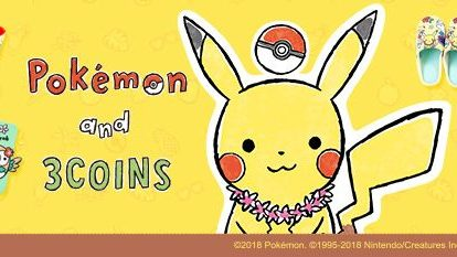 Check out these cute collaboration items between thePokemonseries and popular Japanese store 3Coins!