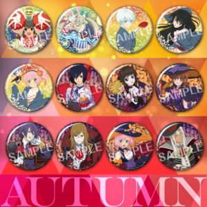 Badges | Tales of Series Anime| Anime Merchandise Monday (25 June - 1 July) | MANGA.TOKYO (C)いのまたむつみ (C)藤島康介 (C)BANDAI NAMCO Entertainment Inc.