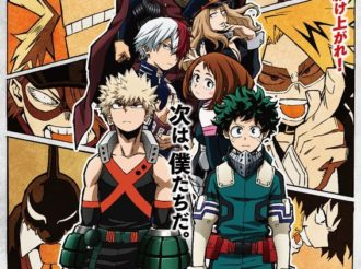 My Hero Academia Releases New Visual for Second Cour of Season 3