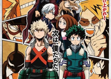 My Hero Academia Season 3 Anime Visual