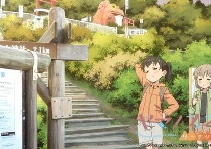 Yama no Susume Season 3 (Encouragement of Climb) Official Anime Screenshot
