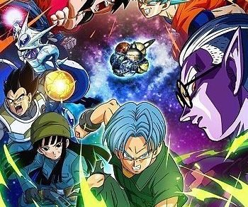 Dragon Ball Heroes Anime Visual