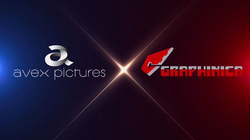 Avex pictures and Graphinica Logos