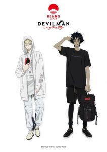 Devilman Crybaby meets Beams Japan -Sabbath Shinjuku- Pop-up Store
