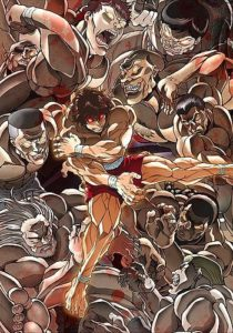 Baki Anime Visual