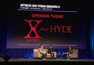 X JAPAN feat. HYDE in Charge of Attack on Titan Season 3's Opening Theme