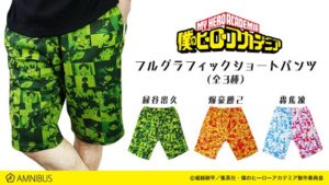 Shorts | Anime My Hero Academia | Anime Merchandise Monday (9-15 July) MANGA.TOKYO ©堀越耕平/集英社・僕のヒーローアカデミア製作委員会