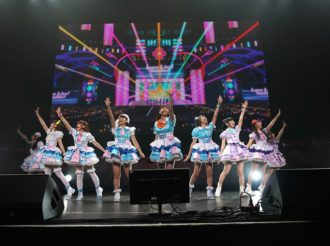 Aqours Celebrates its First Solo Live in America at Anisong World Matsuri