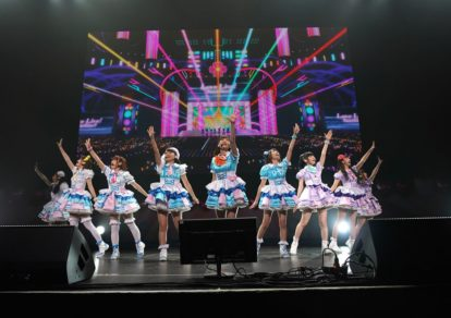 Love Live! Sunshine!!'s idol group Aqours at Anisong World Matsuri