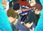 Free! Dive to the Future Anime Visual