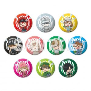 Cells at Work Collaboration Anime Cafe | Can Badges - 1 out of 10 at random (each 417 yen +tax)