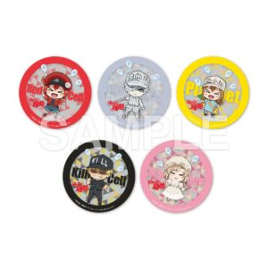Cells at Work Collaboration Anime Cafe | Acrylic Coasters - 1 out of 5 at random (each 780 yen +tax)