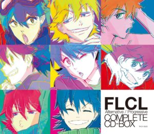 FLCL Complete CD Box Jacket (c) 2018 Production I.G / 東宝