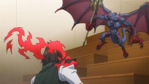 Lord of Vermilion: Guren no Ou Episode 3 Official Anime Screenshot © 2007-2017 SQUARE ENIX CO., LTD. All Rights Reserved.