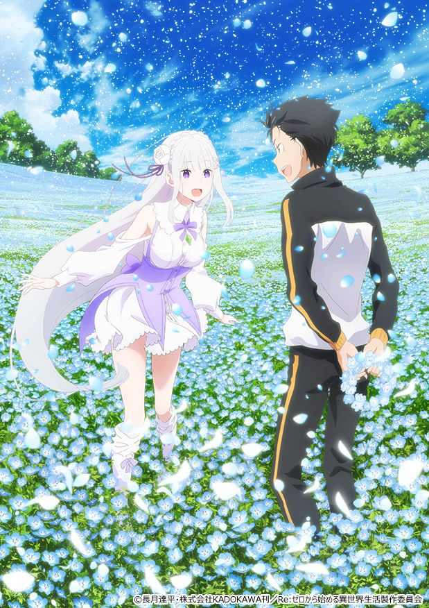 Re:Zero - Starting Life in Another World Memory Snow  New Anime Visual