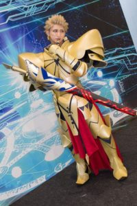 Gilgamesh at the cosplay event of Fate/Grand Order Fes.2018 ~3rd Anniversary~