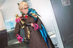 Shinjuku Archer at the cosplay event of Fate/Grand Order Fes.2018 ~3rd Anniversary~