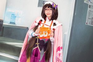 Osakabe-hime at the cosplay event of Fate/Grand Order Fes.2018 ~3rd Anniversary~