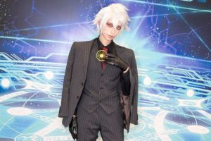 Karna at the cosplay event of Fate/Grand Order Fes.2018 ~3rd Anniversary~