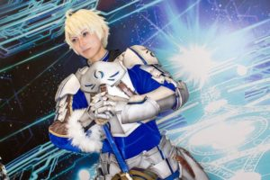 Arthur Pendragon (Prototype) at the cosplay event of Fate/Grand Order Fes.2018 ~3rd Anniversary~