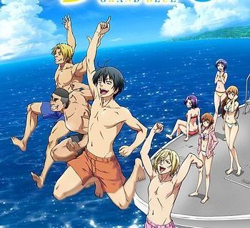Grand Blue Anime Visual