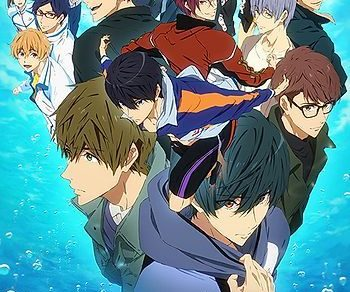 Free! – Dive to the Future- Anime Visual