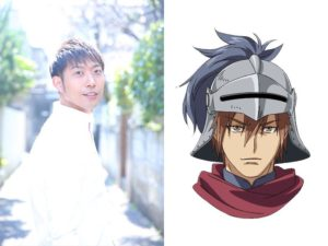 Hidenori Takahashi as Xaintrailles from anime series Ulysses: Jeanne d'Arc to Renkin no Kishi!