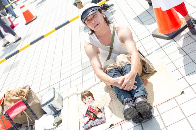 Tenno (@ToadstoolLayer) as Seita from Grave of the Fireflies  | Comiket 94: Unique Cosplays from Day 2
