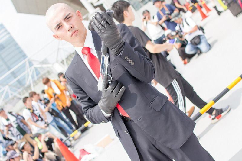 Vampir (@Vampir_Valahia) as Agent47 from HITMAN | Comiket 94: Male Cosplayers from Day 3