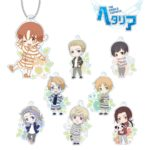 Acrylic Key Holder | Anime Hetalia - The World Twinkle | Anime Merchandise Monday (5-12 August) by MANGA.TOKYO ©2015 日丸屋秀和・幻冬舎コミックス/ヘタリア製作委員会