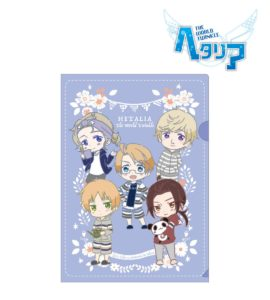 Clear File | Anime Hetalia - The World Twinkle | Anime Merchandise Monday (5-12 August) by MANGA.TOKYO ©2015 日丸屋秀和・幻冬舎コミックス/ヘタリア製作委員会