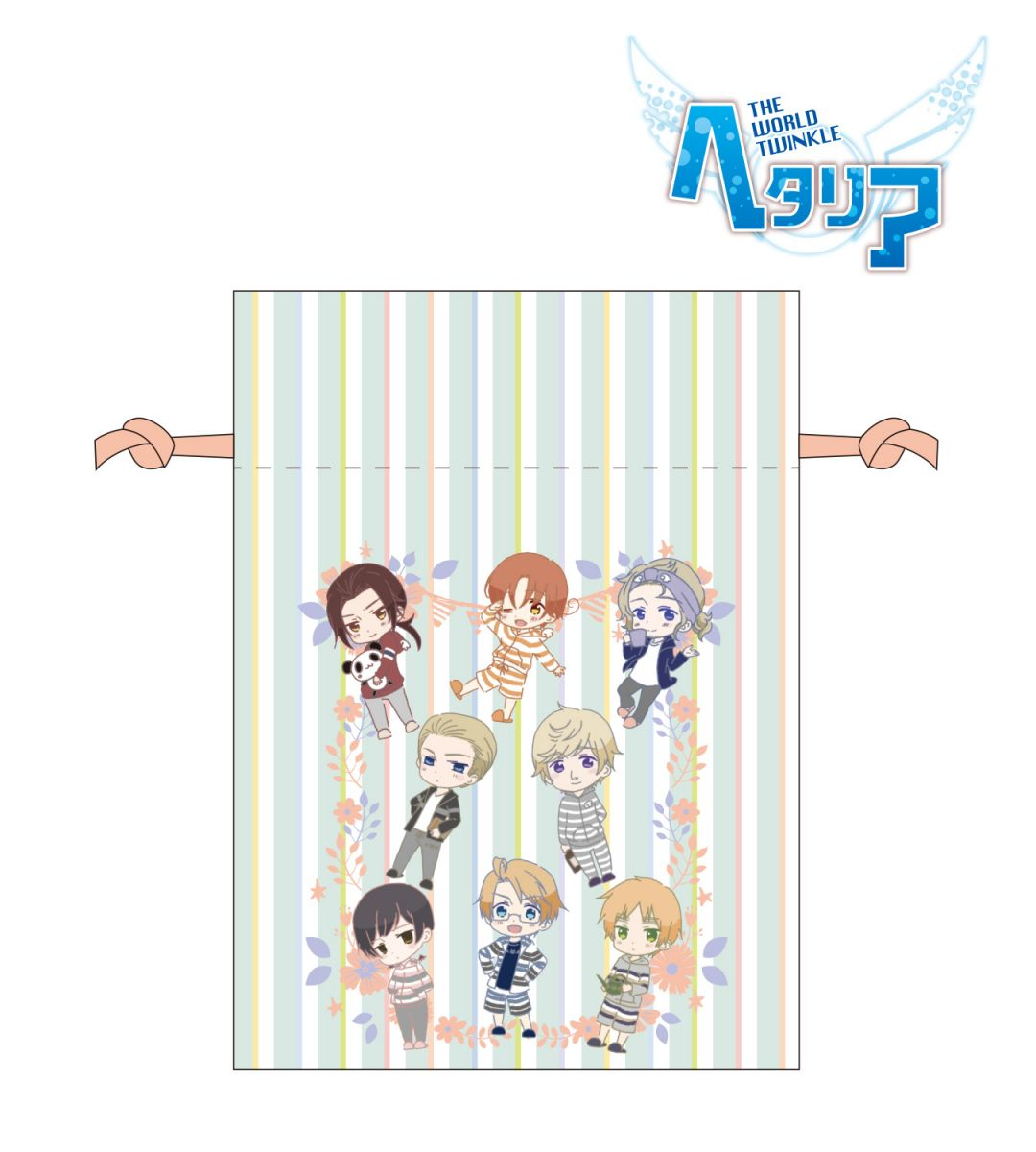 Bag | Anime Hetalia - The World Twinkle | Anime Merchandise Monday (5-12 August) by MANGA.TOKYO ©2015 日丸屋秀和・幻冬舎コミックス/ヘタリア製作委員会